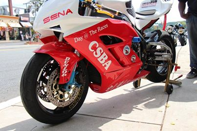 csba day the races CBR 1000 track bike