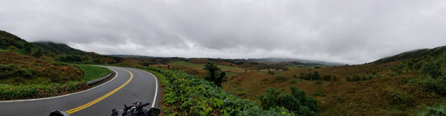 Panoramic view from Tazewell Co, VA