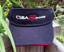 Black CSBA Racing Visor