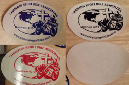 csba oval decals